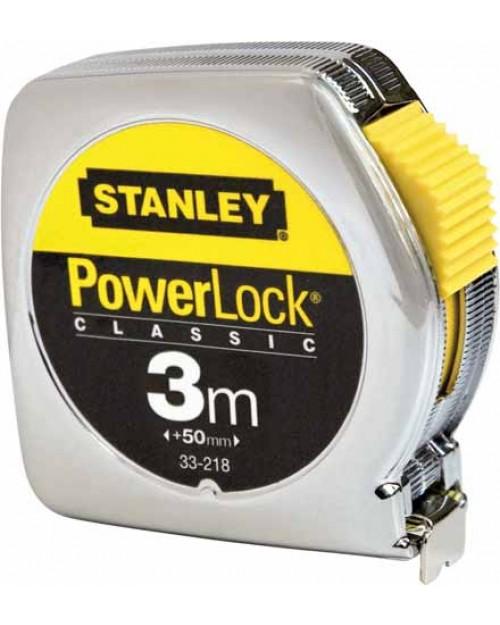 ΜΕΤΡΟ POWERLOCK 3m STANLEY 0-33-218